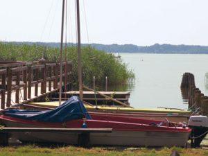 Das Segelboot des JIZ