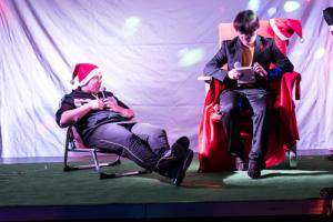 Weihnachtsfeier im Jean-Itard-Zentrum